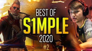 HE JUST DOESN'T STOP! BEST OF s1mple #2! (2020 Highlights)