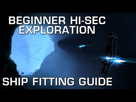 EVE Online - How to Fit a Ship for Beginners in High-Sec Exploration Hacking Sites