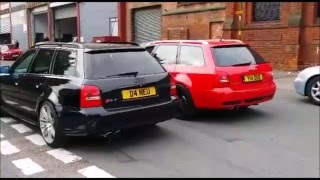 RS4 B5 TOP 10 BEST OF ANTI LAG LAUNCH CONTROL NO LIFT SHIFT