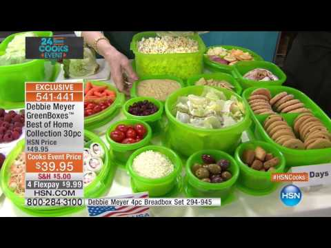 HSN | HSN Cooks Event featuring Debbie Meyer 04.19.2017 - 04 PM