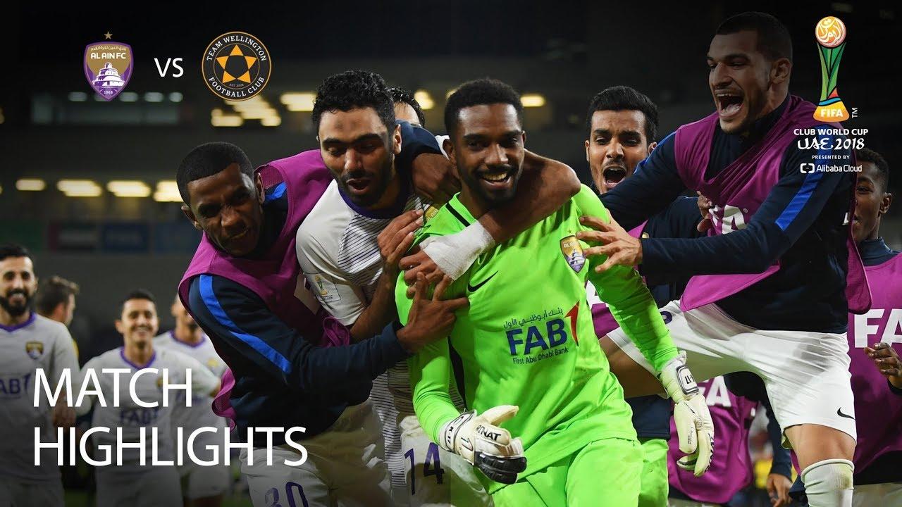ecd0d0dd671 Al Ain v Team Wellington - FIFA Club World Cup 2018 - MATCH 1 - YouTube