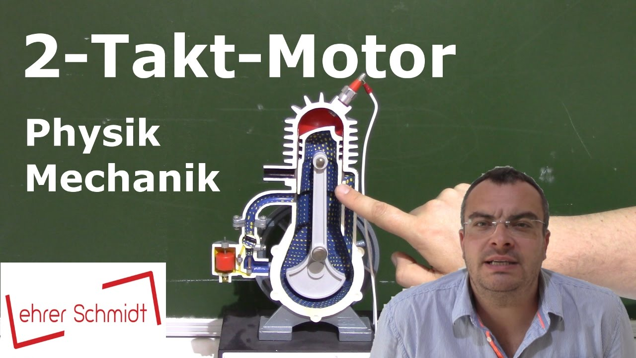 Zwei-Takt-Motor (2-Takt-Motor) | Mechanik | Physik - YouTube