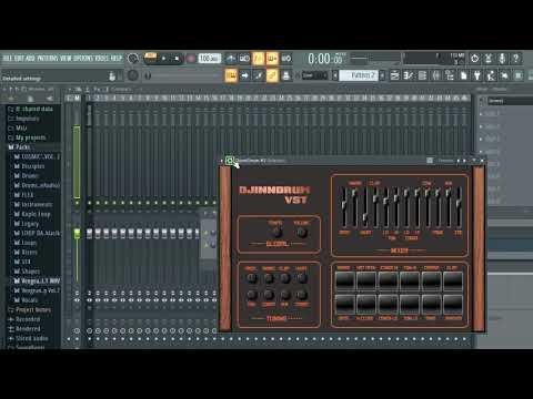 [Eng] Free 80's Drum Machine VST - DJINNDRUM