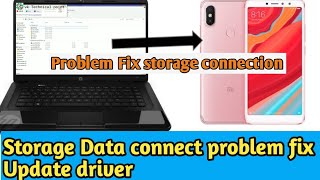 Mobile Storage Connect With Computer ( Data Transfer Error Problem Fix) Vk Technical Point