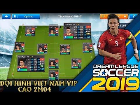 CTM | Cách để có đội hình ĐTQG Việt Nam 'VIP' cao 240cm | DLS 2019