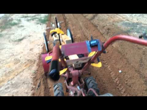 1987 Troy Bilt Horse III With Grader Attachment - Protoype