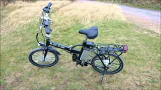 Folding electric bike for well under £1000 - Byocycles preview