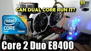 65 Games on Core 2 Duo E8400 + 4/6GB (GTA5, DOOM, DX:MD, ROTTR & More)