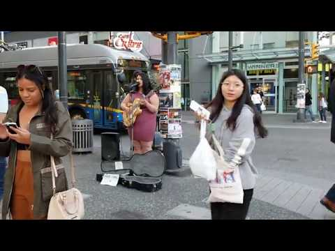 Vancouver STREET MUSICIAN: