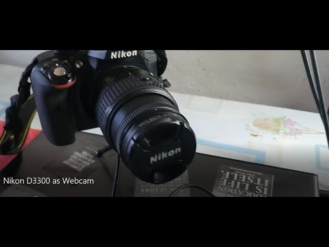 How To Use A DSLR As Webcam With OBS Studio (Nikon D3300)