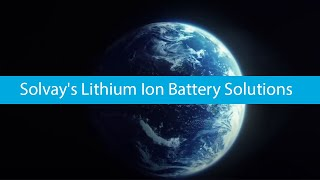 Solvay's battery solutions