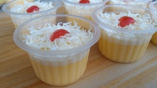 Download Video PUDDING JAGUNG SUSU KEJU/SWEET CORN PUDDING MP3 3GP MP4