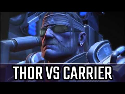 Thor vs Carrier: Playing on New balance ladder l StarCraft 2: Legacy of the Void Ladder l Crank