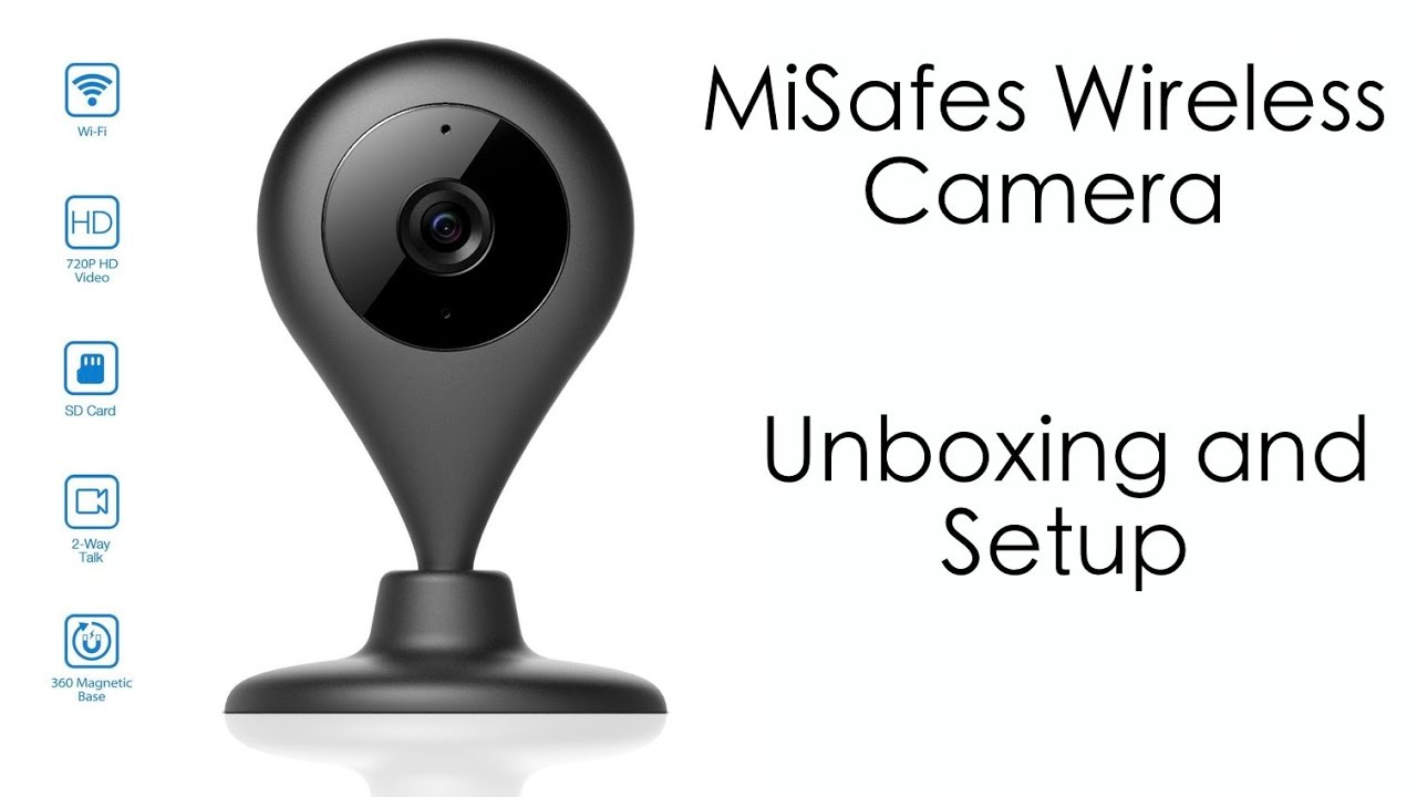 Not Bad for $40! MiSafes Wireless Smart Camera - Quick Look and Setup