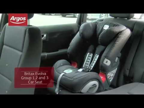 Britax Evolva Group 1-2-3 Plus Felix Car Seat Argos Review