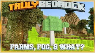Truly Bedrock S1E42 Fog, Farms, & What? | Minecraft Bedrock Edition SMP, MCPE, MCBE