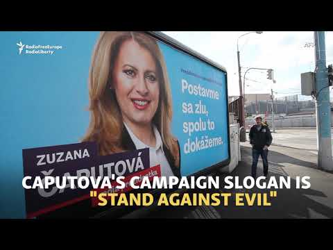 Slovak Liberal Set For Presidency With 'Stand Against Evil'