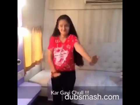 anushka sen/ mehar Dance on kr gai chull
