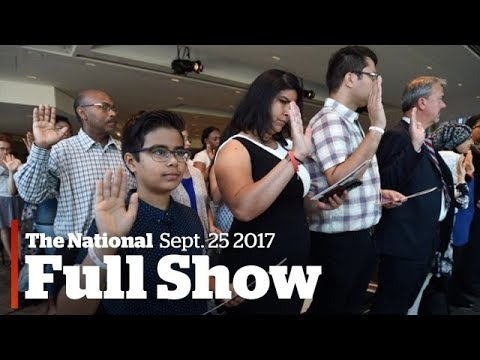 The National for Wednesday October 25, 2017