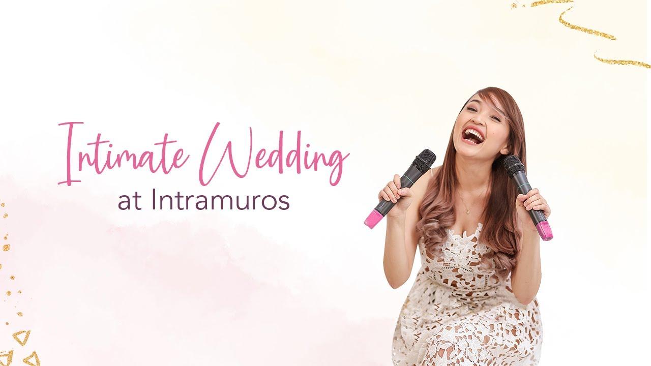 Intimate Wedding at Intramuros   Vlog 202