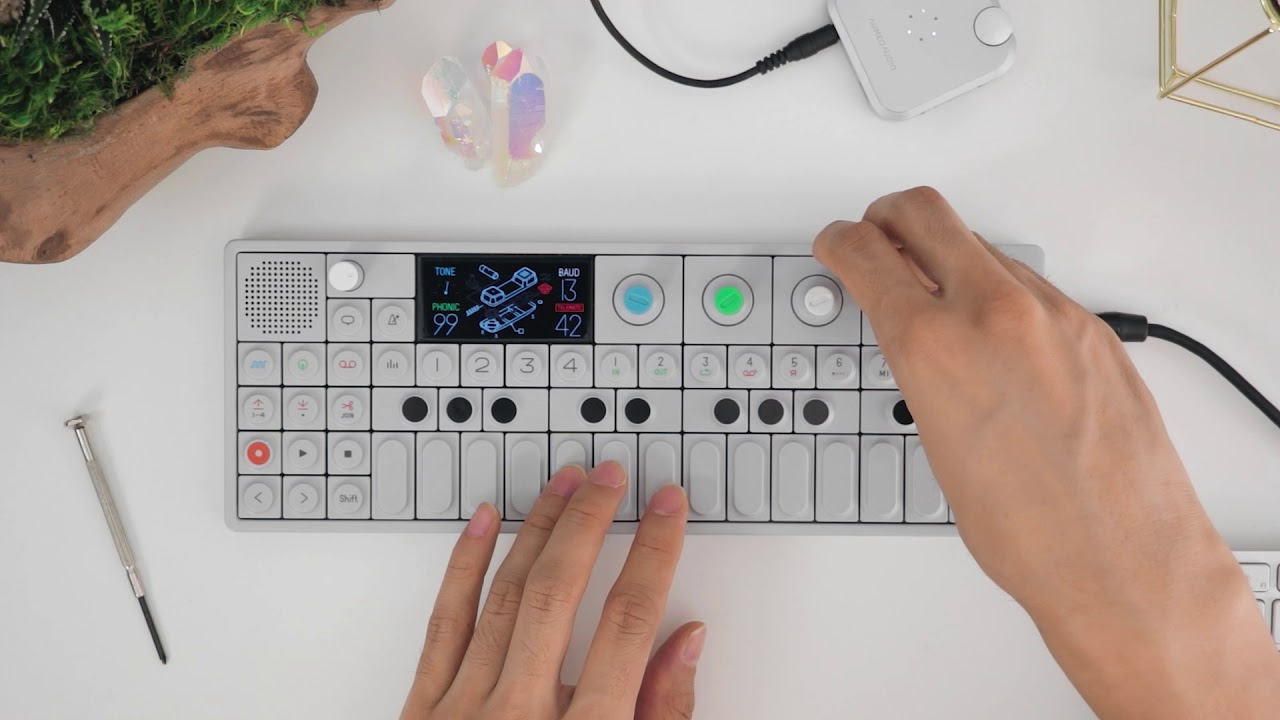 OP-1 beat starting with zero ideas - Sep 15, 2017