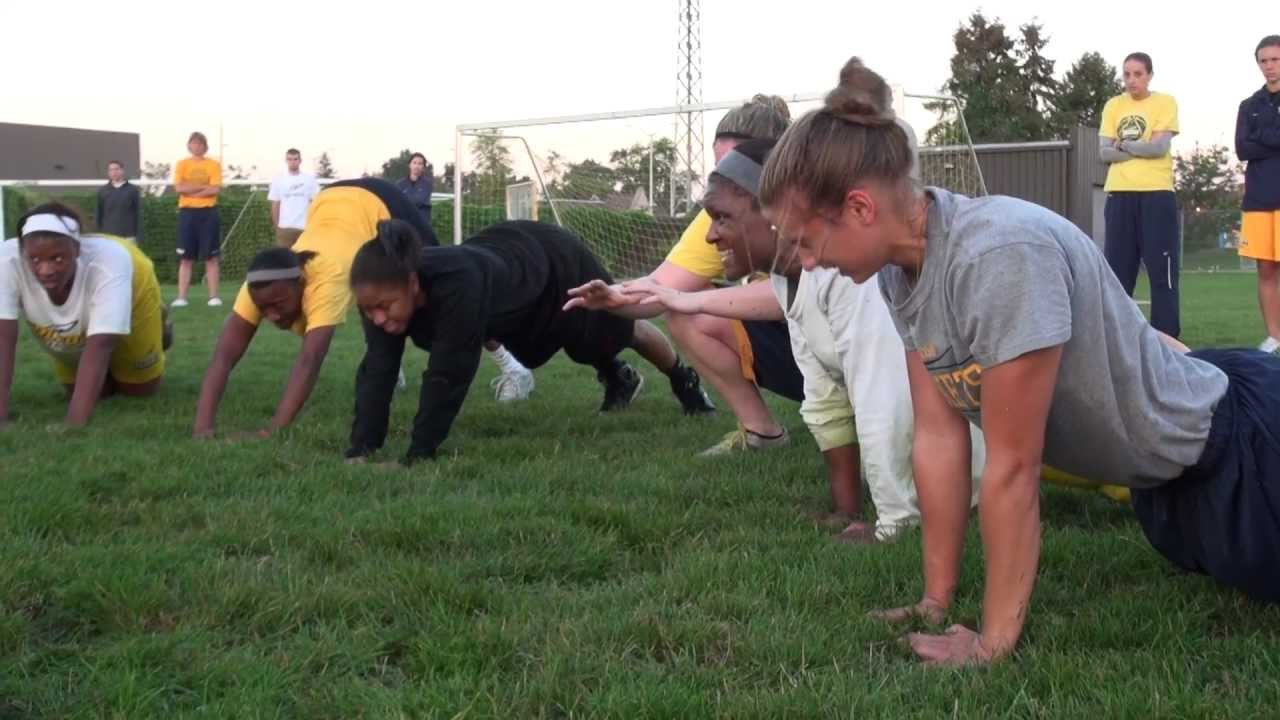 Toledo Women's Basketball Navy Seal Training - YouTube
