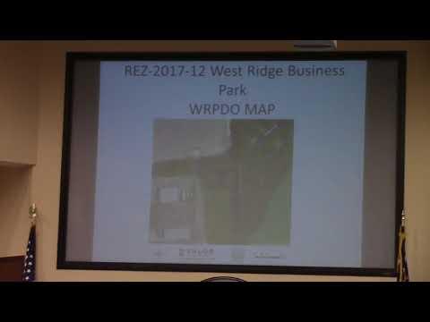 8 a. REZ-2017-12 West Ridge Business Park, C-G to C-H, 1.2 acres