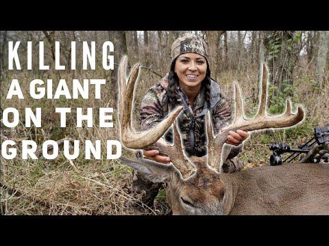NO Blind Monster Buck Bow Kill By Sarah Bowmar | Bowmar Bowhunting |