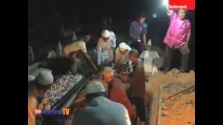 Pengebumian Allahyarhamah Syaleza - Susulan kematian Eksekutif Pentadbiran Berita TV9