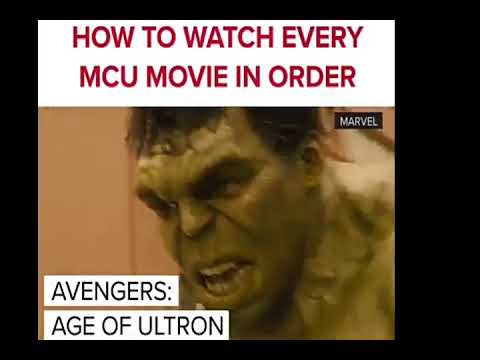 How to watch Every MCU movies in order