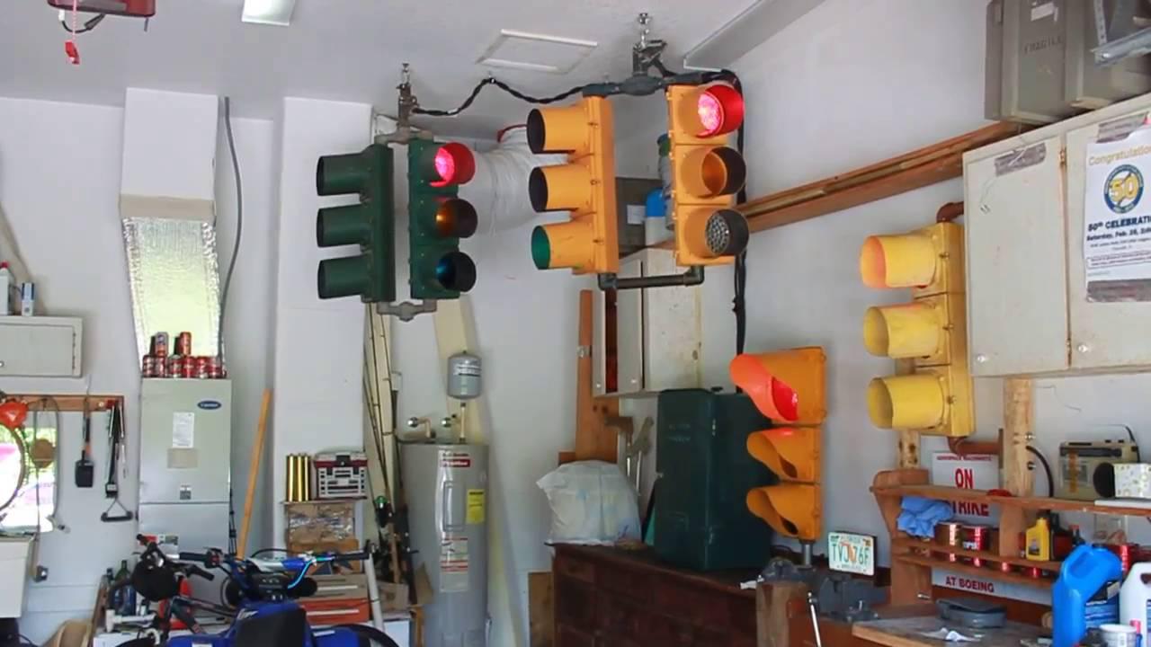 Garage Traffic Signal Setup