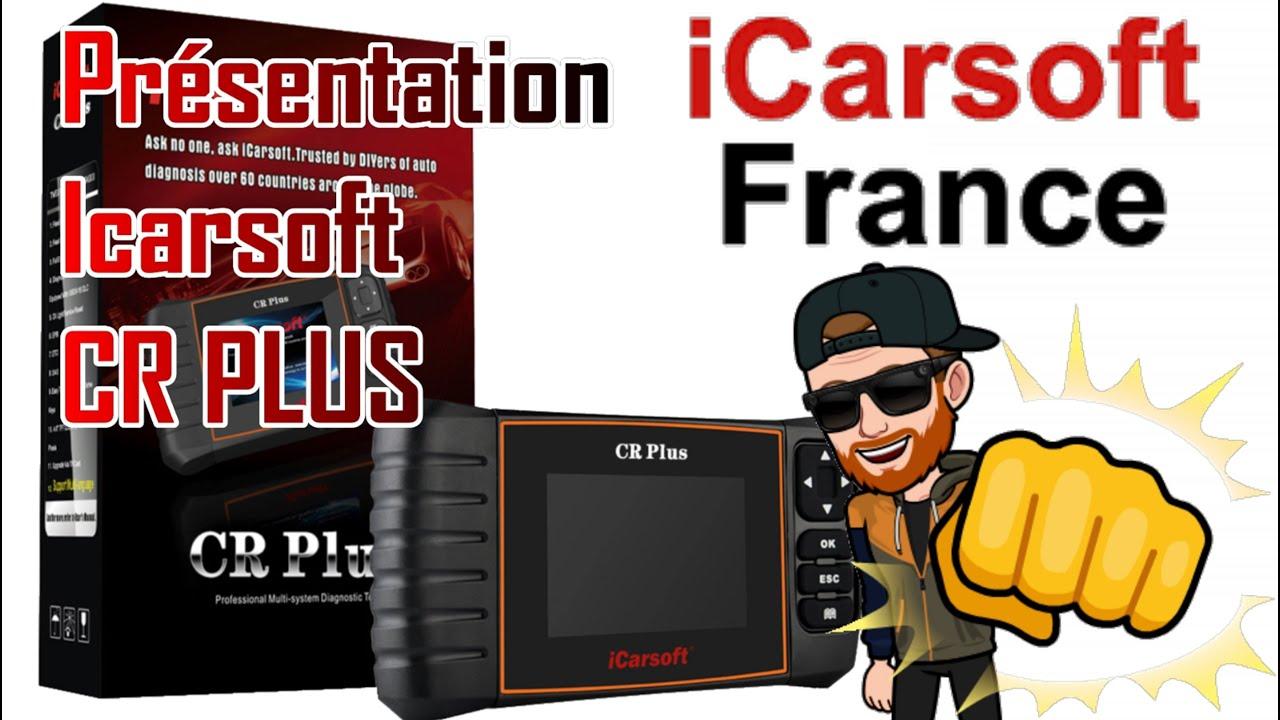 valise de diagnostic icarsoft cr plus youtube. Black Bedroom Furniture Sets. Home Design Ideas