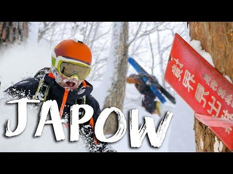 WINTERACTIVITY ep21 - JAPOW - Ski freeride world tour