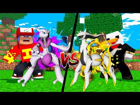 Minecraft: NOVO MEWTWO X VS ARCEUS ! - PokeSorte ‹ Ine ›