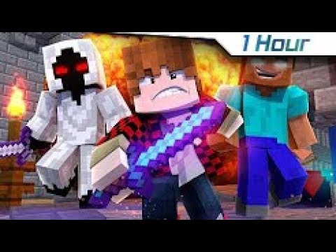"[1 Hour] 🎵 ""WARZONE"" - NEW Minecraft Music Video Song Parody"