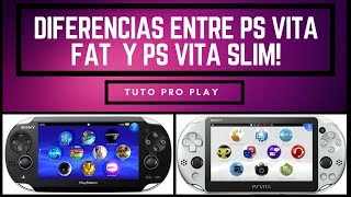 PS Vita Fat o PS Vita Slim? Cuál elegir?