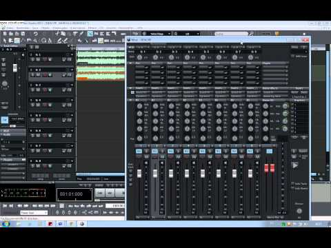 Samplitude Music Studio 2013  ( Maciel Studio Playbacks Gravaçoes )