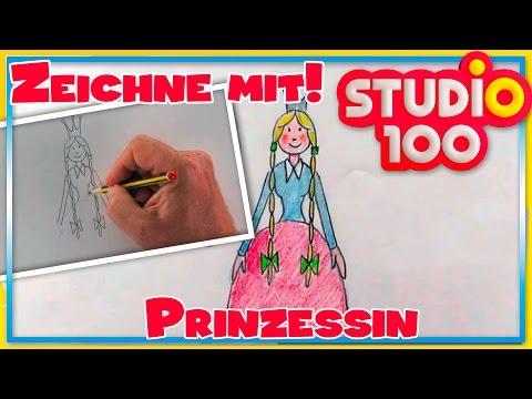Prinzessin – Zeichnen lernen für Anfänger – Schritt für Schritt!