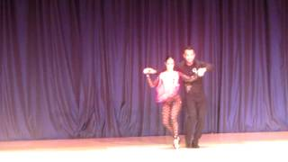 www.QueRicoDance.com Jorge Contreras & Alien Ramirez Bachata Performance Romeo Santos