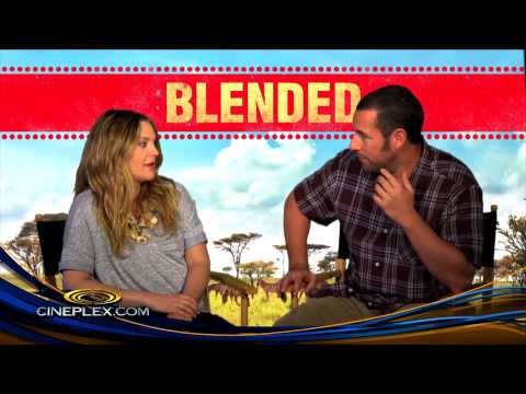 Exclusive: Quizzing Adam Sandler and Drew Barrymore