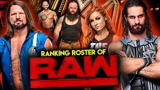 The Entire WWE RAW Roster Of 2019 Ranked From From WORST To BEST!
