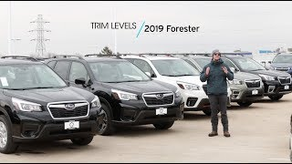 2019 Subaru Forester Trim Levels Explained