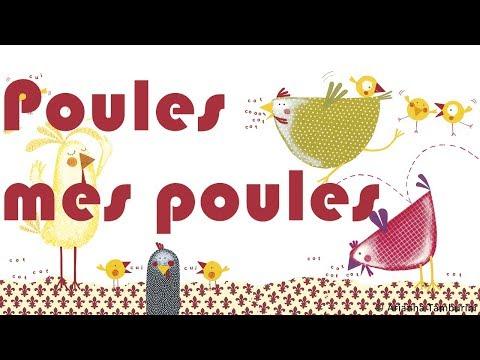 Henri Dès chante - Poules mes poules - chanson pour enfant