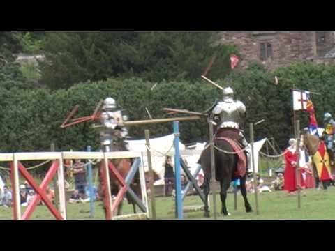 Medieval Festival and 18th Century Battle Re-enactment at Berkeley Castle