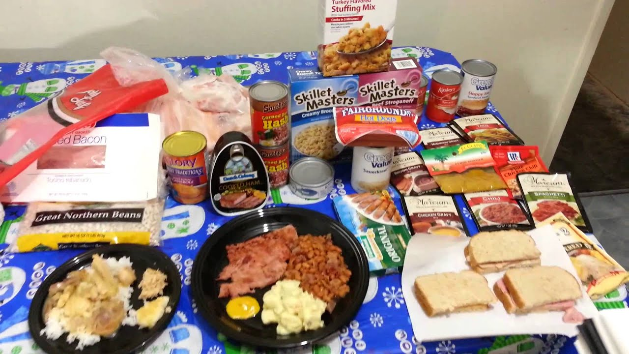 Crazy Cheap Dinners 30 Meals For 30 Dollars YouTube