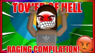 Me Raging At TOWER OF HELL For 2 Minutes..   (ROBLOX-Kompilierung)