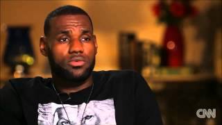 LeBron James on his father and family YouTube Videos