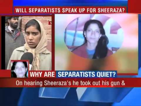Watch Will Separatists speak up for Sheeraza  India TIMESNOW tv      Jammu Kashmir Dot TV Episodes   Blip