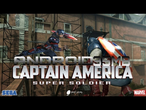 How to download Captain America Super Soldier in just 35MB for free on Android