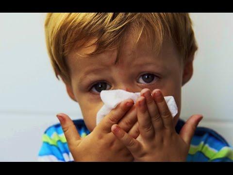 Как быстро избавить ребенка от насморка